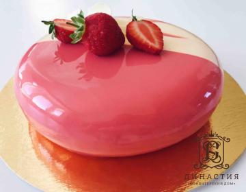 Рецепт клубничного муссового торта