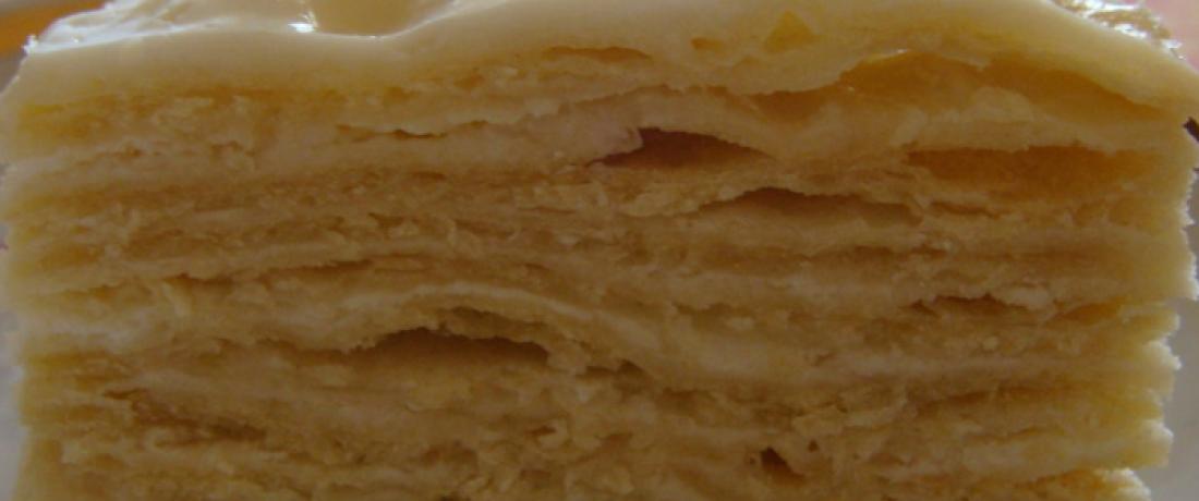 Рецепт заварного торта