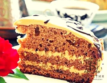Рецепт торта «Арабская ночь»