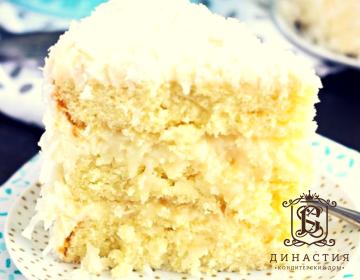 Рецепт кокосового торта с ромом