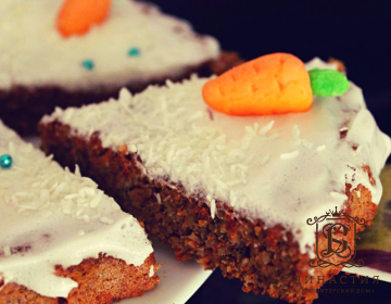 Рецепт швейцарского морковного торта