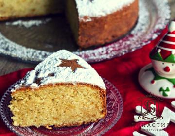 Рецепт греческого новогоднего торта