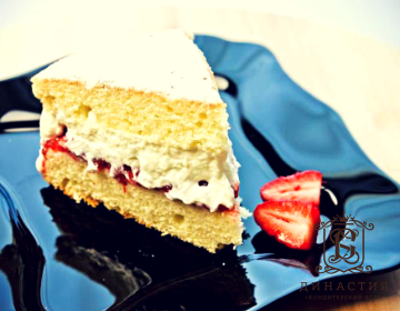 Рецепт английского бисквитного торта