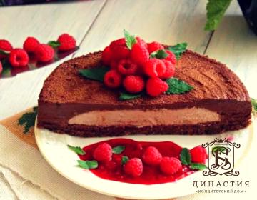 Рецепт шоколадного торта с муссом