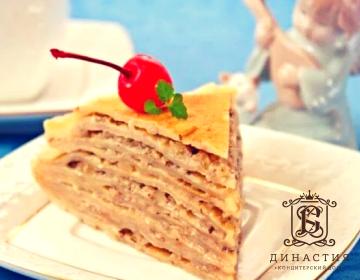 Рецепт рисмкого блинного торта